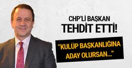 CHP'li başkan Özcan Işıklar'dan Ümit Kalko'ya tehdit