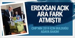 Muhalefetin 2019 adayı Erdoğan yıllar önce fark atmıştı!