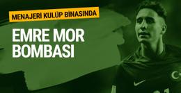 Emre Mor'un menajeri Fenerbahçe kulüp binasında