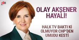 CHP'li Halk TV'nin Meral Akşener hayali hem Erdoğan'ı hem de...