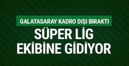 Galatasaray kadro dışı bıraktı! Süper Lig ekibine gidiyor