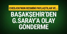 Başakşehir'den Galatasaray'a gönderme