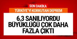 Son deprem Türkiye'de! 6.6'lık deprem tsunami yaptı