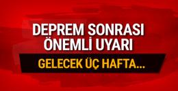Muğla'da deprem sonrası Prof. Ercan uyardı: Gelecek 3 hafta...