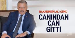 Bakan Ahmet Arslan'ın acı günü canından can gitti