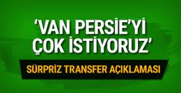 Feyenoord'dan Van Persie transferi için açıklama!