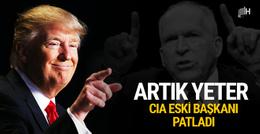 CIA eski Başkanı Brennan Trump'ı hedef aldı