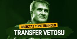 Beşiktaşlı yöneticilerden Şenol Güneş'e tepki! Transfer vetosu...