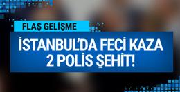 Bayrampaşa'da feci kaza 2 polis şehit