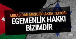 Mahmud Abbas'tan İsrail'e dedektör cevabı