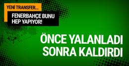 Fenerbahçe'den kafa karıştıran Samuel Eto'o hamlesi