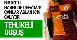 Galatasaray'a bir kötü haber de UEFA'dan geldi