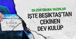 Beşiktaş Şampiyonlar Ligi'ndeki en zor grupta!