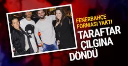 Quaresma'nın arkadaşı Fenerbahçe forması yaktı!