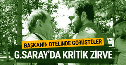 Galatasaray'da kritik zirve!