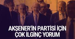 Kılıçdaroğlu'ndan Meral Akşener'in partisine ilk yorum
