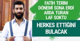 Arda Turan'dan Fatih Terim'e gönderme