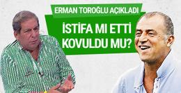 Erman Toroğlu'ndan flaş Fatih Terim iddiası