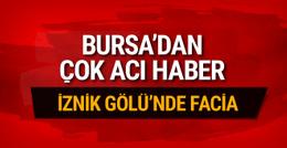 Bursa'nın İznik ilçesinde facia