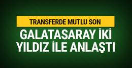 Feghouli ve Fernando Galatasaray'da