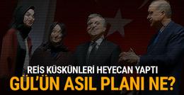 Abdullah Gül'ün asıl niyeti ne? Dedikodu çıkaran olay!