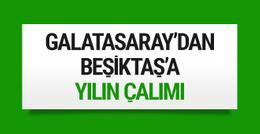 Galatasaray'dan Beşiktaş'a yılın çalımı!