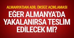 Almanya'dan Türkiye'ye Adil Öksüz cevabı