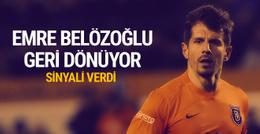 Emre Belözoğlu'ndan Milli Takıma dönüş sinyali