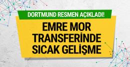 Borussia Dortmun'dan Emre Mor için flaş açıklama!