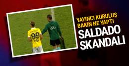 Fenerbahçe maçında Soldado skandalı