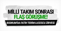 Fatih Terim ve Lucescu bir araya geldi!