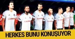 Herkes Beşiktaş'ın kulübesini konuşuyor!