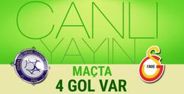 Osmanlıspor-Galatasaray maçı CANLI YAYIN