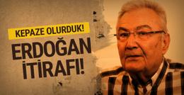 Deniz Baykal'dan Erdoğan itirafı! Kepaze olurduk