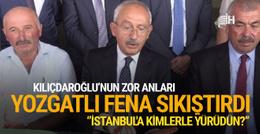 Yozgatlı vatandaş Kılıçdaroğlu'nu sorduğu soruyla sıkıştırdı