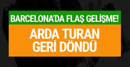 Arda Turan Barcelona'da kadroya döndü