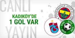 Fenerbahçe-Trabzonspor maçı CANLI YAYIN