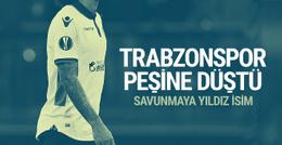 Trabzonspor'da savunmaya yeni isim