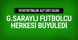 Galatasaraylı futbolcu herkesi büyüledi