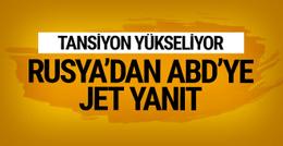 Tansiyon yükseliyor ABD'nin flaş vize kararına Rusya'dan jet yanıt