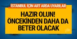 İstanbul hava durumu için İBB ve AKOM'dan uyarı hortum, yıldırım...