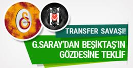 Galatasaray Beşiktaş'ın gözdesine teklif yaptı