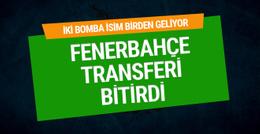 Fenerbahçe anlaşma sağladı! İki isim geliyor