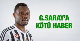 Galatasaray'a Kwadwo Asamoah için kötü haber!