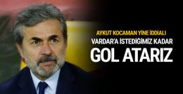 Aykut Kocaman rövanş maçı için iddialı açıklama
