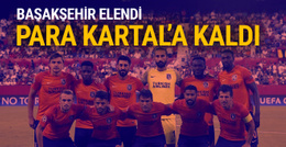 Başakşehir elendi Beşiktaş kazandı