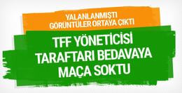 Cengiz Zülfikaroğlu'nun biletsiz seyirci aldığı görüntüler