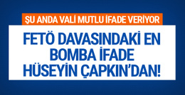 Hüseyin Çapkın'ın ifadesi : MİT, Fidan ve Erdoğan bombaları