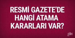 19 Eylül 2017 Resmi Gazete haberleri atama kararları