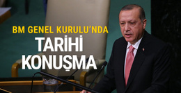 Cumhurbaşkanı Erdoğan BM'de konuştu